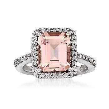 Pink engagement ring!  I love pink.