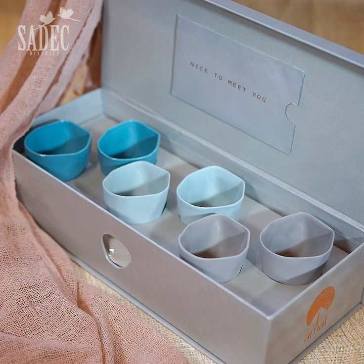 Packaging and gift boxes for amaï saigon ceramic collection www.amaisaigon.com