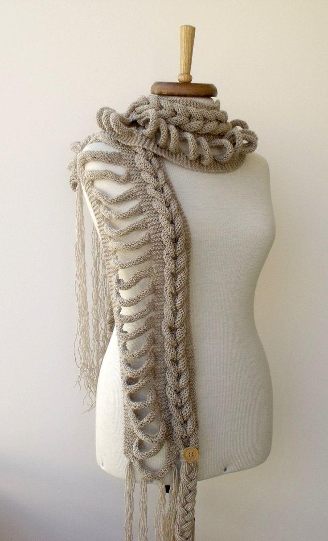 Rapunzel Infinity Scarf Crochet Pattern Free : 1000+ images about Breien on Pinterest Drops design, Tes ...