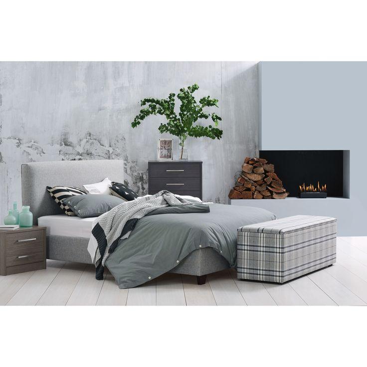Dasch Bed Frame Kiln Fabric Domayne Online