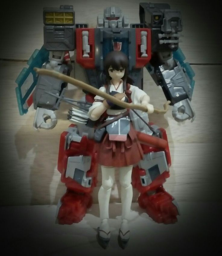 Sentient Aircraft Carriers, a transformers and kanmusu.  Broadside and Akagi