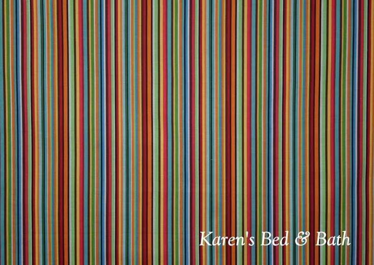 Blue Green Red Orange Brown White Curtain Valance Via Etsy Kitchen Windows Nana 39 S
