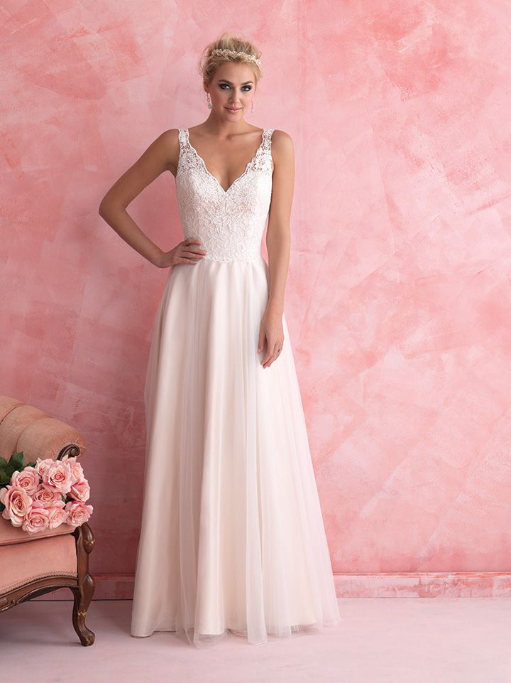 56 best Allure Bridals Romance images on Pinterest | Short wedding ...