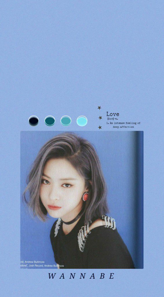 Wallpaper With Shin Ryujin From Itzy