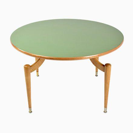 Runder Couchtisch Mit Formica Tischplatte, 1950er Jetzt Bestellen Unter:  Https://moebel.ladendirekt.de/wohnzimmer/tische/couchtische/?uidu003d1eb1c17d Daaf 513b  ...