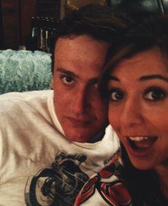 Jason Segel & Alyson Hannigan How I Met Your Mother #himym