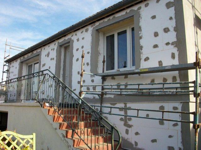 Isolation thermique par extérieur pour une maison
