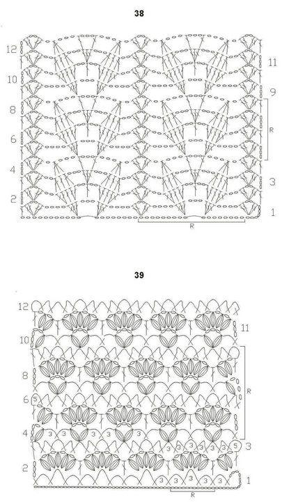crochet stitch diagrams  1717 best images about crochet diagrams on pinterest