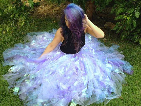 New listing - Pastel Lavender Lilac full length long adult tutu skirt