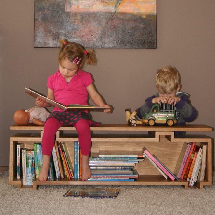 boekenkast-bankje