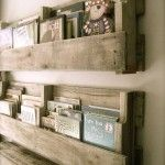 Baby Rooms Diy Palette Shelves For Rustic Nursery Vintage Room Model Bookshelf Wood Material Classic Modeled Design Good Vibes Foor Western Old Style Look Inside Modern