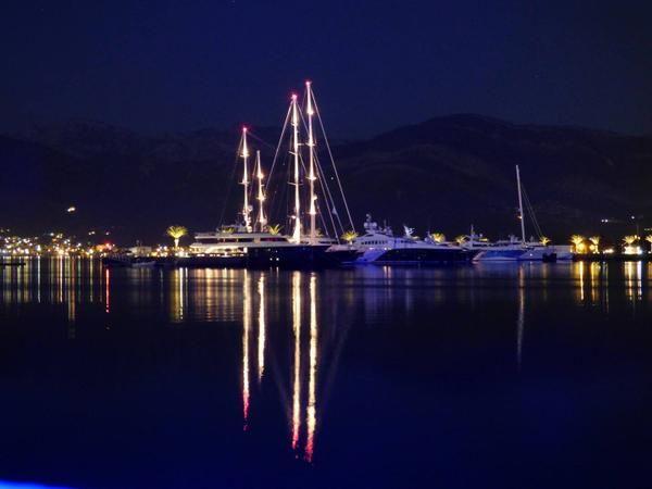 #Superyacht Rendesvouz #Montenegro 2015 #SYRMontenegro - The night before the show.