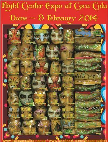 Face-Sensation Facepainting: February 2014