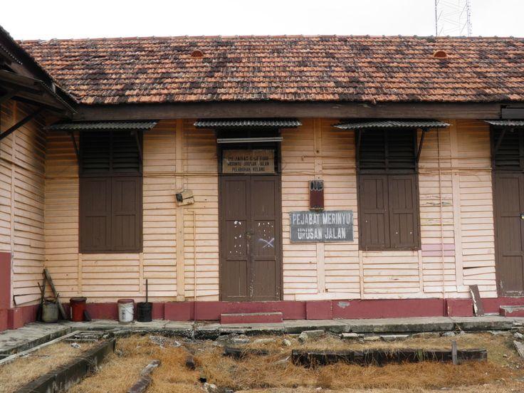 Old railway property at Port Klang