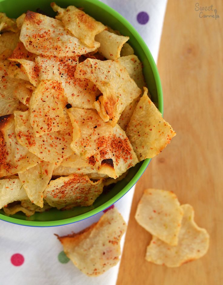 Jicama Chips – Chips de Jícama
