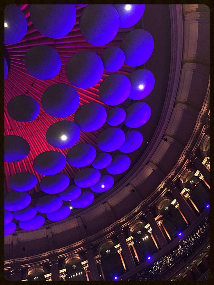 Royal Albert Hall, acoustic ceiling. Love London