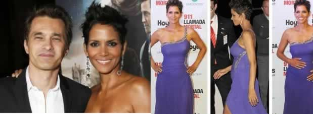 Halle Berry incinta di un maschio