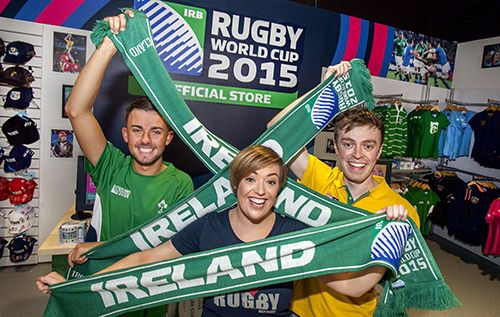 Dublin Airport togs out for Rugby World Cup