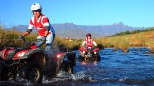 River Quading -- Three Tree Hill Activitity -- Drankensberg