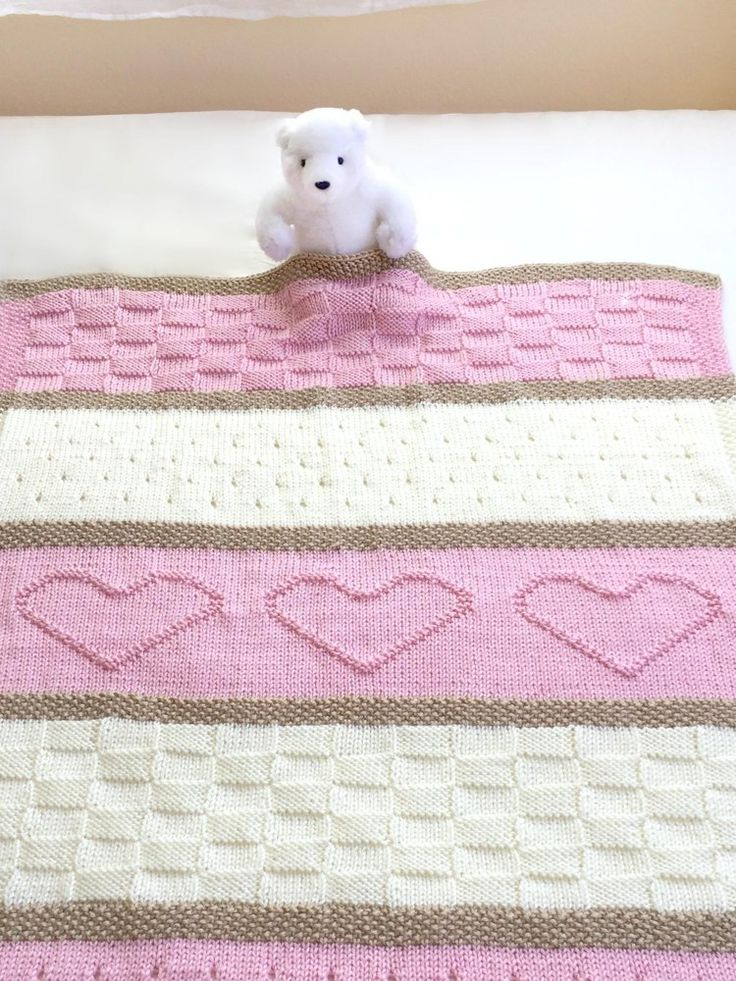 66 best Baby Blankets Knitting Patterns images on Pinterest | Baby ...