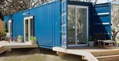 Elle convertit un conteneur d'expédition en magnifique petite maison. L'intérieur est sublime! - Images - Lesmaisons