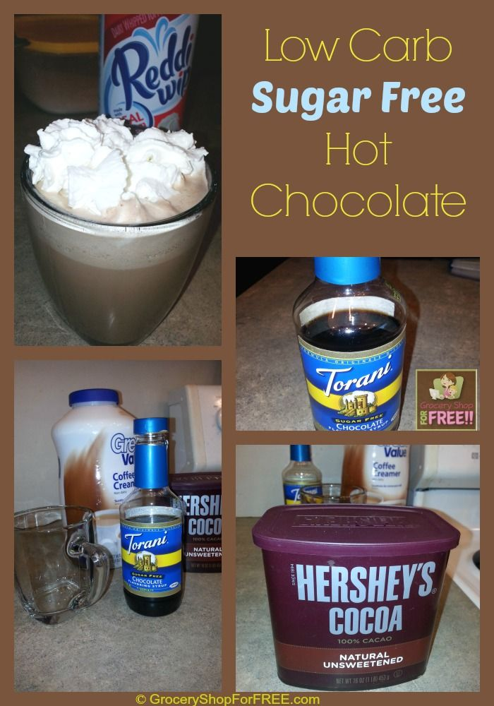 Low Carb, Sugar Free Hot Chocolate Recipe! I'm going to share my favorite Low Carb, Sugar Free Hot Chocolate Recipe with you today. I love a hot chocolate in the evening. So, when I had to lose th...