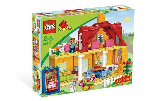 LEGO 5639 - LEGO DUPLO - Family House - Σπίτι της Οικογένειας - Toymania Lego Online Shop 65euro