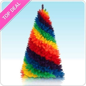 tie dye christmas tree - photo #25