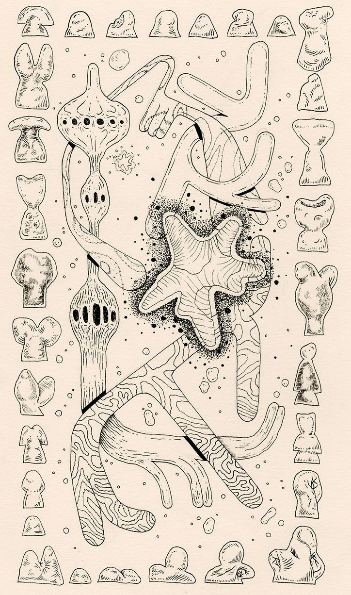 It's Nice That | Illustrator Jordan Jackson's finely-drawn and sprawling compositions