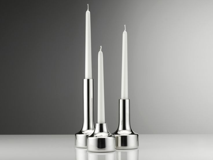 Mini spin candlestick holder trio by Miranda Watkins