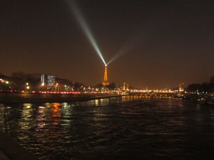 Eiffel tower at distance