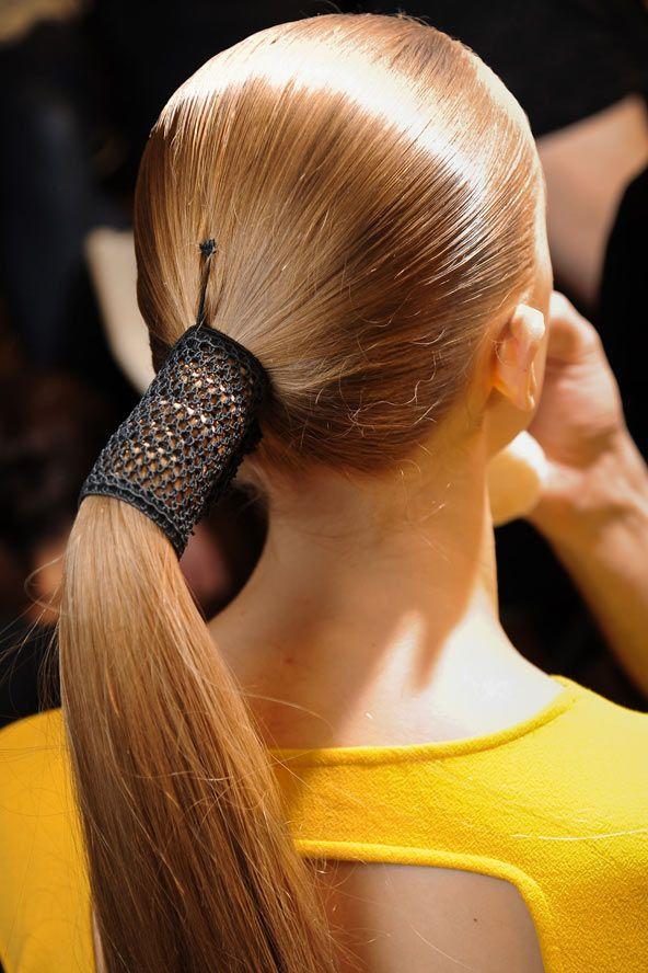 Best Ponytail Images On Pinterest Pony Tails Make Up Looks - Diy ponytail wrap