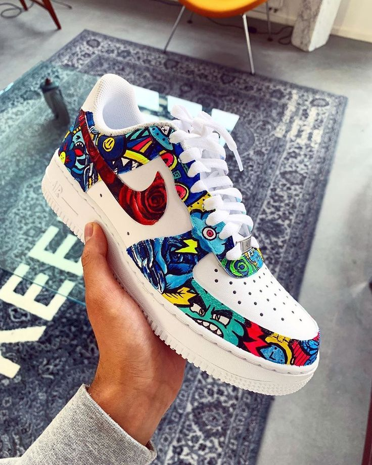 Nike Shoes Air Force, Nike Air Force Ones, Custom Sneakers, Custom Shoes, On Shoes, Me Too Shoes, Vexx Art, Sneakers Fashion, Sneakers Nike