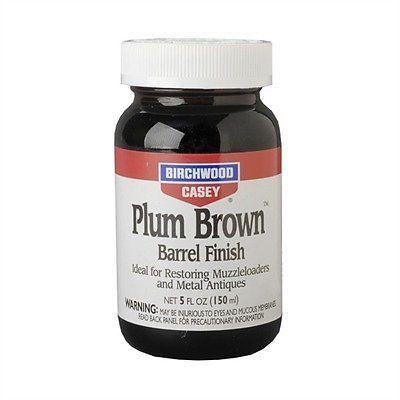 Birchwood Casey 14130 Plum Brown Barrel Finish 5oz Hunting Shooting Equipment