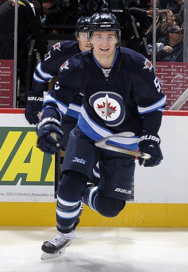 Mark Scheifele #55 Winnipeg Jets
