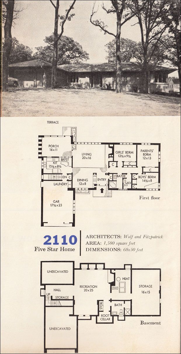 220 best vintage house plans~1960s images on pinterest | vintage