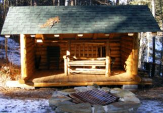 Adirondack lean to plans google search small house for Lean to shelter plans