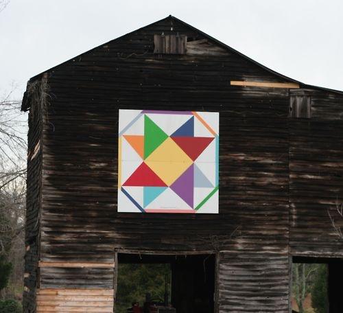 Ohio Star Barn Quilt