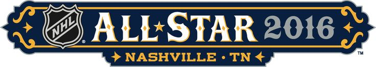 NHL All-Star Game Wordmark Logo (2016) -
