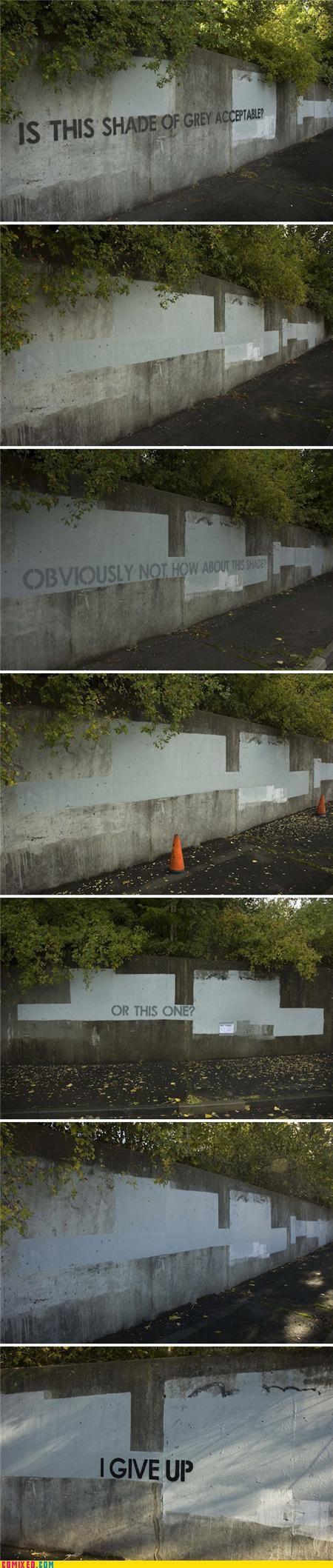 graffiti battle - LOL!!!