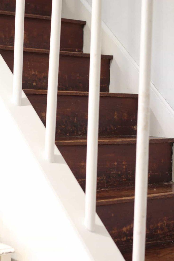 Reforma de Escadas de Madeira com Dash e Albert de Annie Selke   – Stair runner