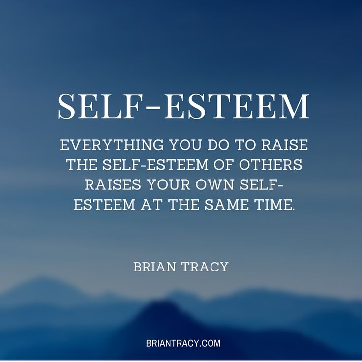 You raise your own #selfesteem when you raise the self-esteem of others.