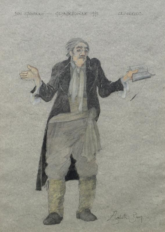 Elizabeth Bury, British, late 20th/early 21st century- ''Don Giovanni, Glyndebourne''; pencil and pastel, signed, inscribed and dated 1991 in black ink, 47.8x33.4cm: a charcoal drawing depicting St Paul's Church, Onslow Square, London; a reproduction print in colours after a painting by James Tytler; a print entitled ''Henley Regatta'', signed, titled and numbered 16/250 in pencil, 27.3x38.5cm, (4) (may be subject to Droit de Suite) - Price Estimate: £100 - £150