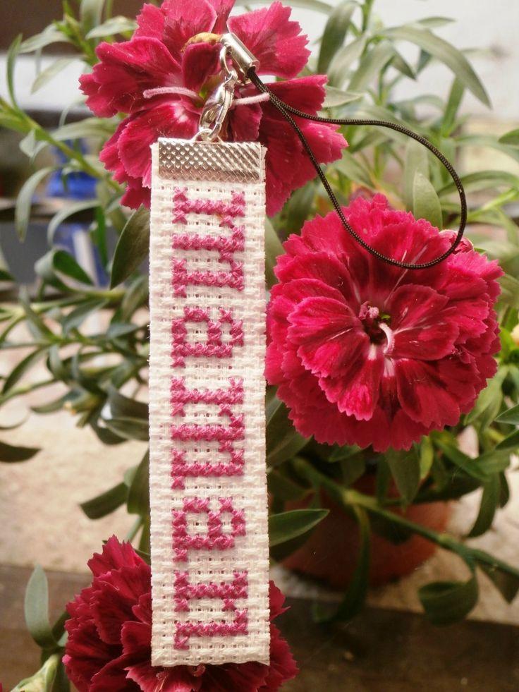Bijoux de sac en point de croix