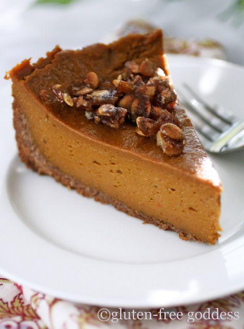 gluten free pumpkin praline pie. yumm: Gluten Free Pies, Gf ...