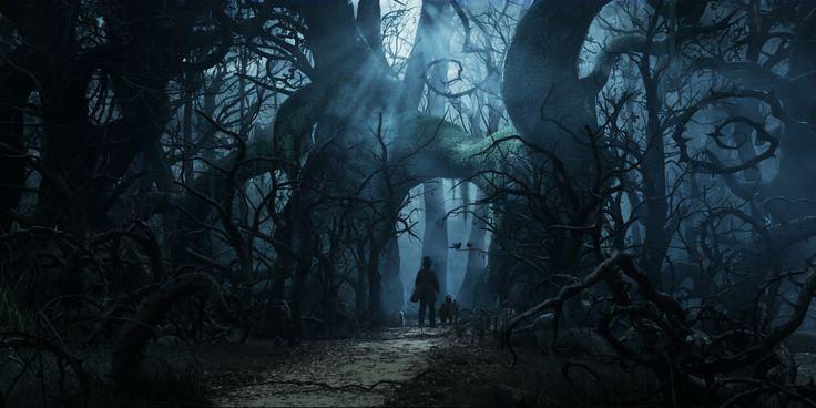 la forêt hantée - Le blog d'Aqua