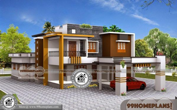 Simple Low Cost House Design 90 Small House Design Two Storey Modern House Plans House Bungalow House Plans