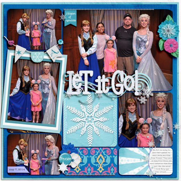Kellybell Designs Frozen