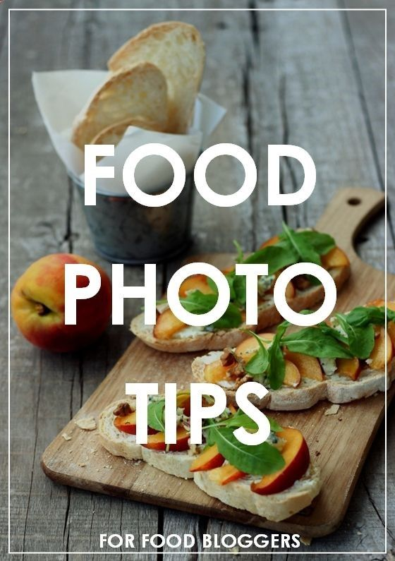 Food Photography Tips all food bloggers should have in their arsenal. Great photos = higher engagement rates for your website!