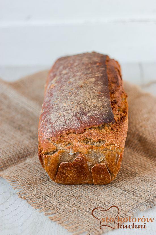 sto kolorów kuchni: Chleb orkiszowo - żytni za zakwasie